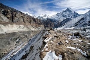 Annapurna Base Camp, North Face of Macchapuchare